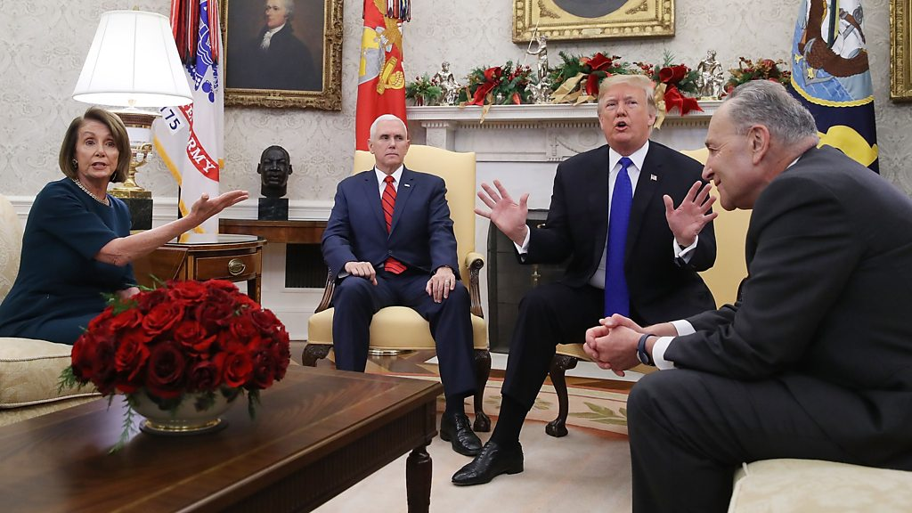 Trump bickers with most sensible Democrats over border wall investment