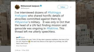 Twitter's Jack Dorsey solutions critics of Myanmar meditation retreat