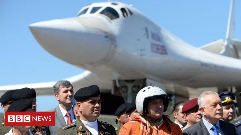US-Russian spat over bombers landing in Venezuela