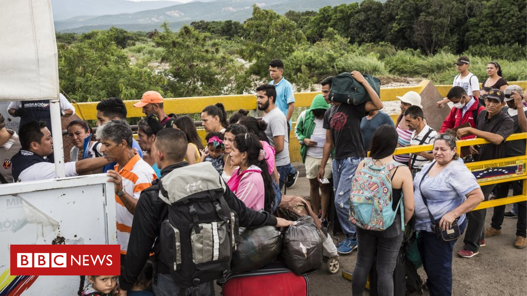 Venezuelan families searching for a greater life