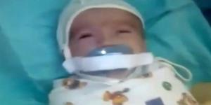 Nipple torture a baby in an incubator in Russia